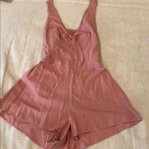 Pink Short Romper